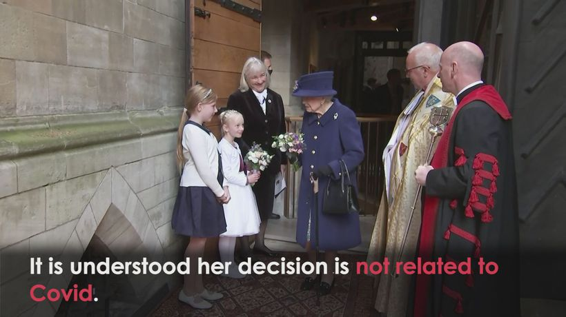 Queen cancels Northern Ireland trip after being told to rest