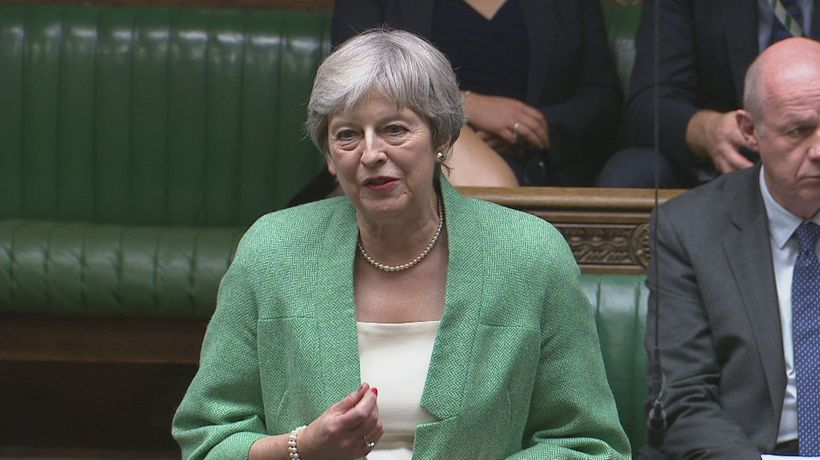 Theresa May pays tribute to James Brokenshire