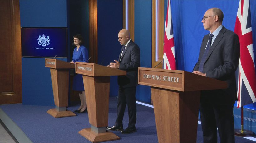 Booster jabs can be booked online, says Javid