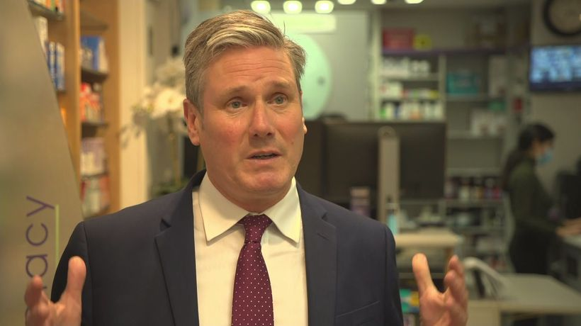 Starmer urges 500,000-a-day booster jab target