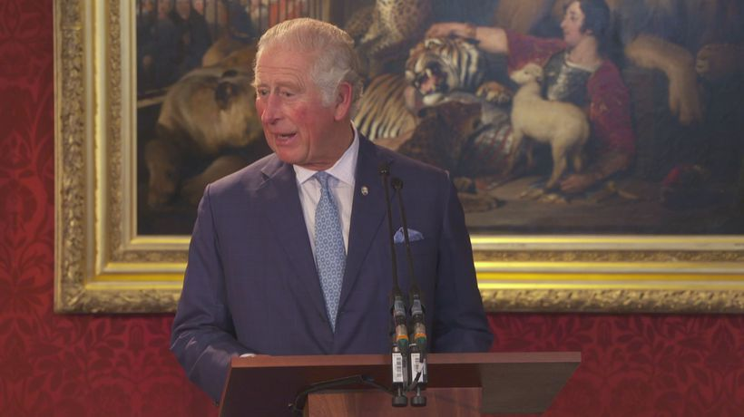 Charles: Prince's Trust stories 'made me laugh and cry'