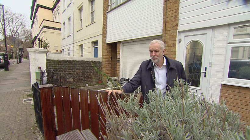 Jeremy Corbyn is asked about rumours of Labour party rift