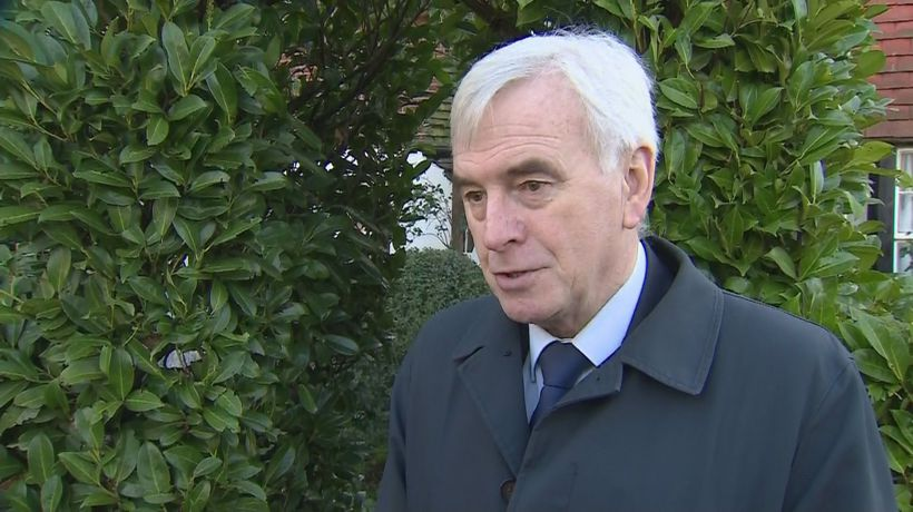 McDonnell: I can't understand why MPs left party