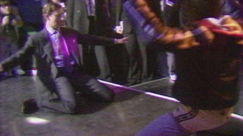 Yes, this really is Prince Charles breakdancing in 1985!