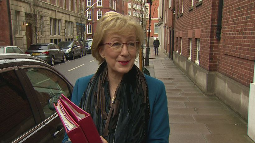 Leadsom: No option off table at present