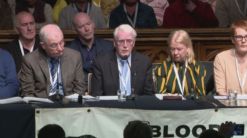 Bloody Sunday families react to prosecution