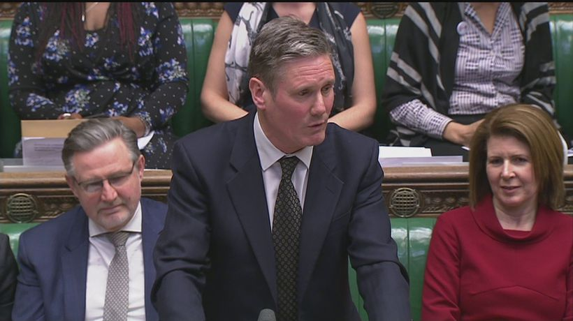 Starmer: Labour 'not supporting' second referendum tonight