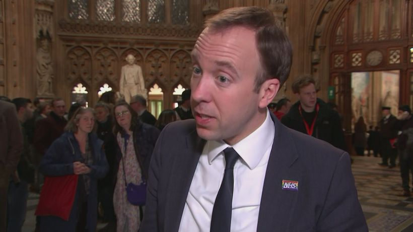 Hancock: We can still leave with PM's deal on 29 March