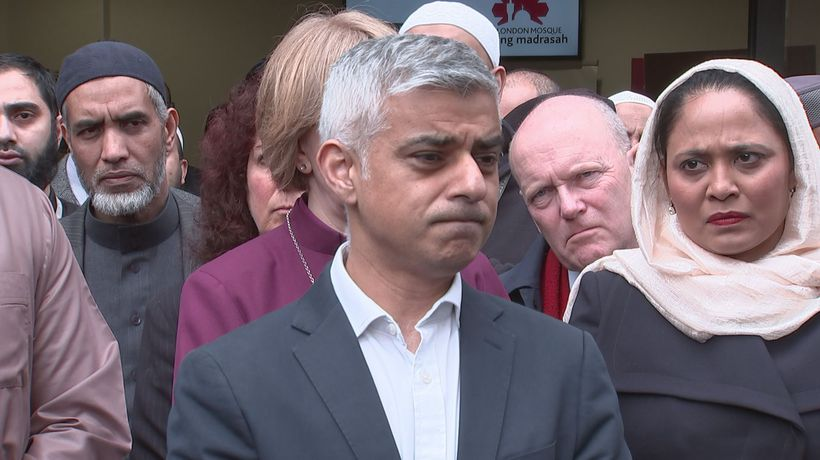Sadiq Khan declares London open to all faiths after attack