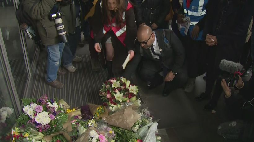 London pays tribute to victims of New Zealand terror attacks