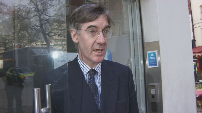 Rees-Mogg says he is thinking of backing May's Brexit deal