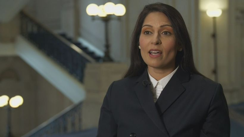 Priti Patel says she will not be backing May's Brexit deal