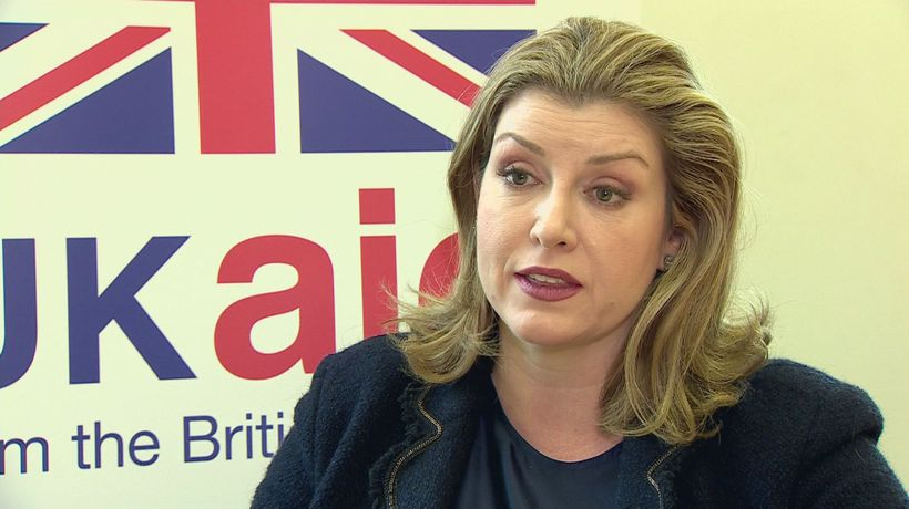 Penny Mordaunt: Do not underestimate May's 'determination'