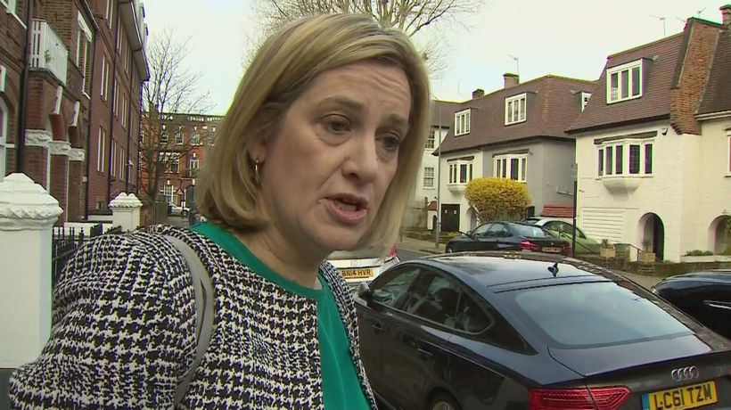 Amber Rudd: Important thing is to get the deal through