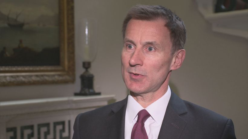 Jeremy Hunt says things are becoming 'starker' over Brexit