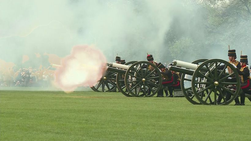 Queen's 93rd birthday marked with gun salutes