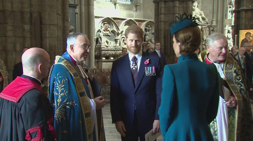 Prince Harry joins forces with Kate to commemorate Anzac Day