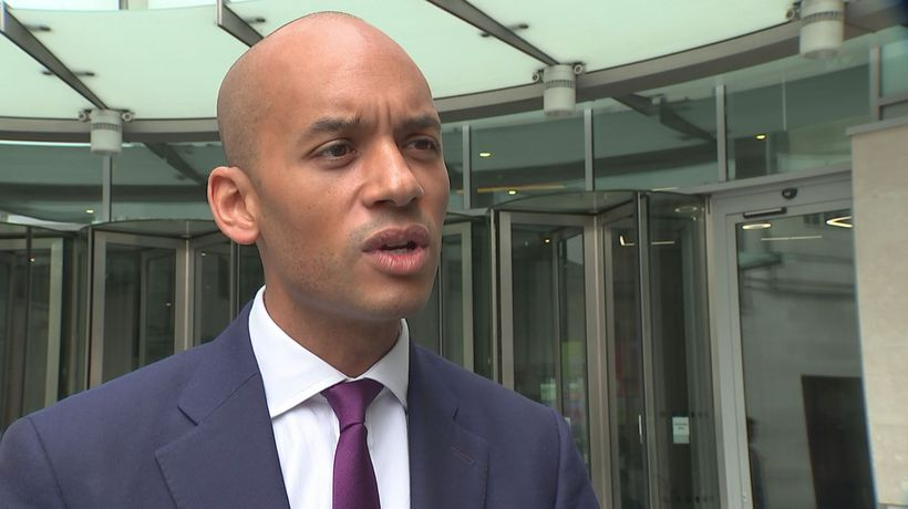 Chuka Umunna calls for article 50 to be revoked