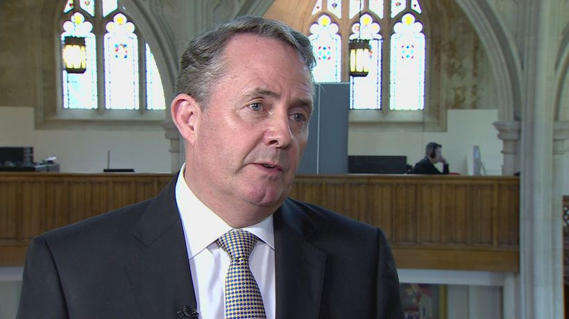Liam Fox: Government will come Huawei 5G decision 'shortly'