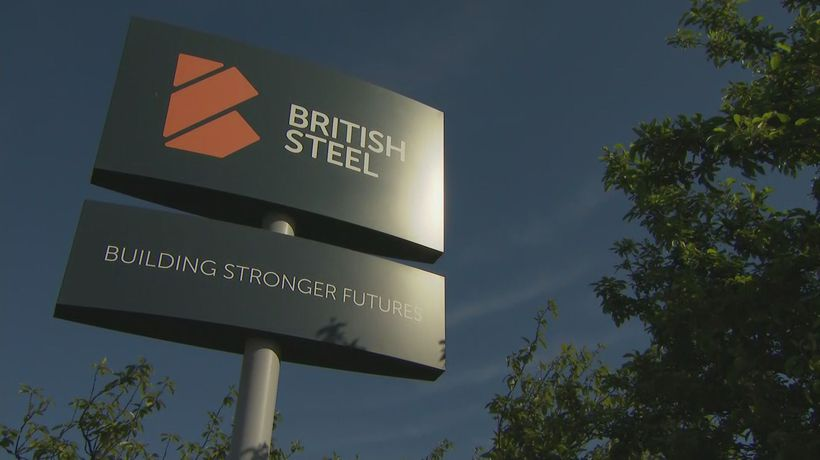 Union reacts to plight of British Steel plant in Scunthorpe