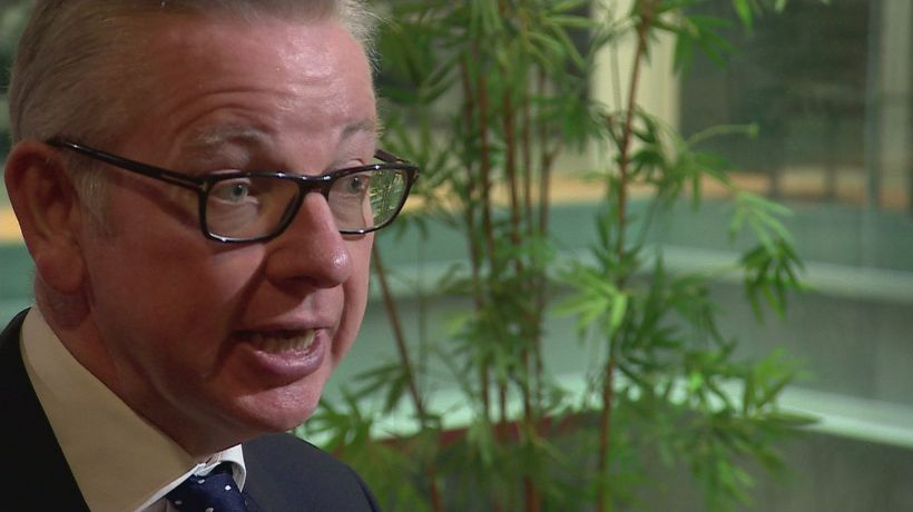 Michael Gove announces ban on certain plastic items