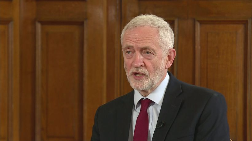 Jeremy Corbyn says new PM should call a general election