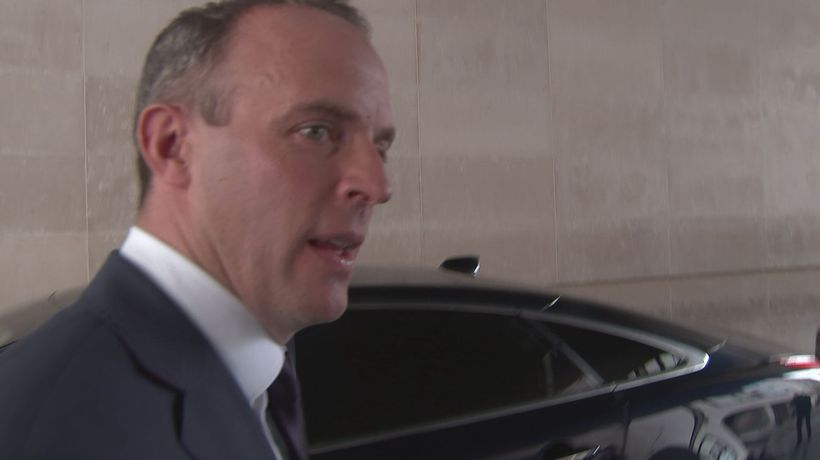 Dominic Raab launches leadership bid