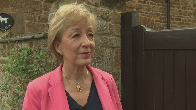 Leadsom announces Tory leadership bid