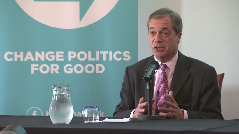 Farage: 'Boris incident is a matter of public interest'