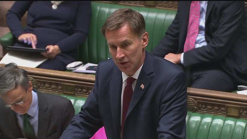 Hunt: Iran must stop destabilising activities in Middle East
