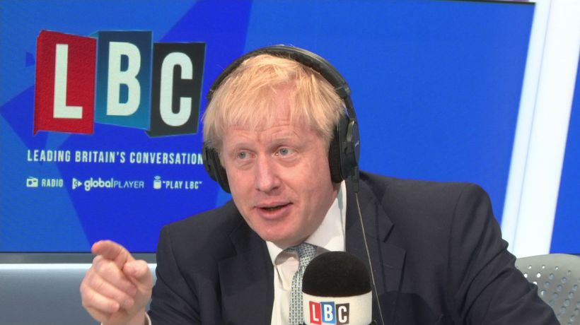 Boris pressed over mystery photo with girlfriend