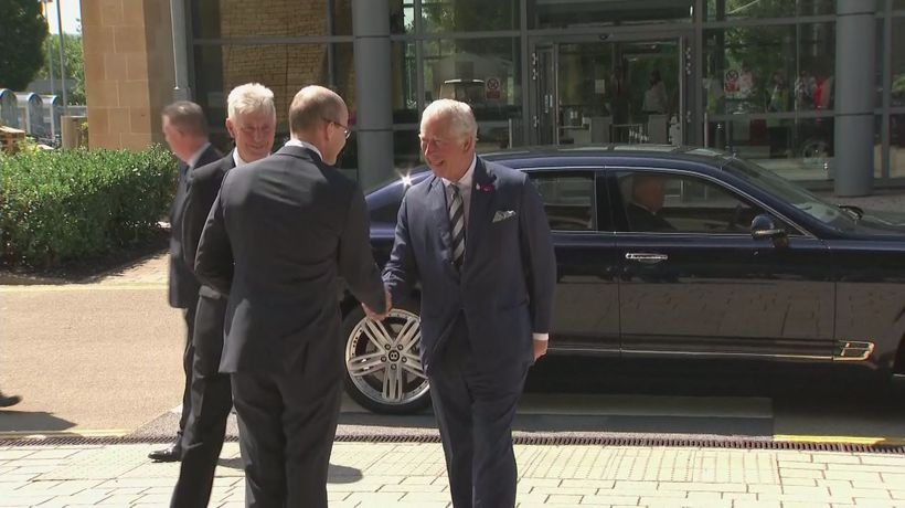 Prince Charles marks 100th anniversary of GCHQ