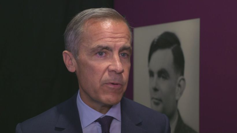 Mark Carney on why he chose Alan Turing for new £50 note