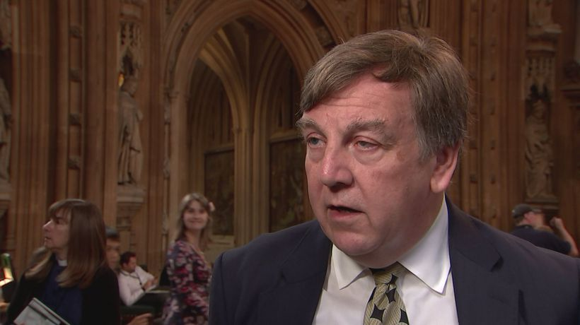 Whittingdale: Vote will show 'weakness' to Europe