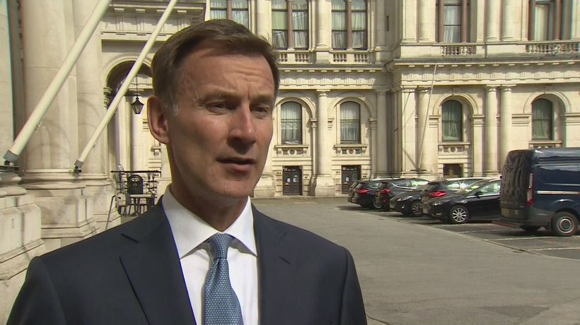 Jeremy Hunt: Iran sees seizing of tanker as 'tit for tat'