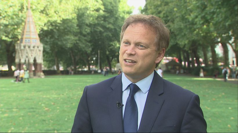 Shapps: 'Extraordinary' that Tory MPs would consider Corbyn