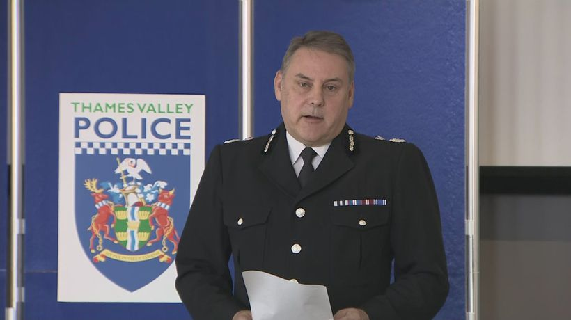 Thames Valley Police pay tribute to PC Andrew Harper