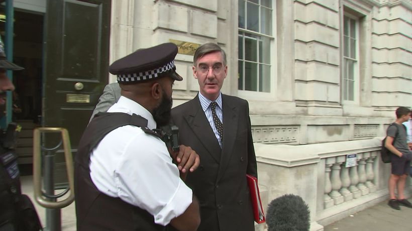 MPs depart from Whitehall without answering questions