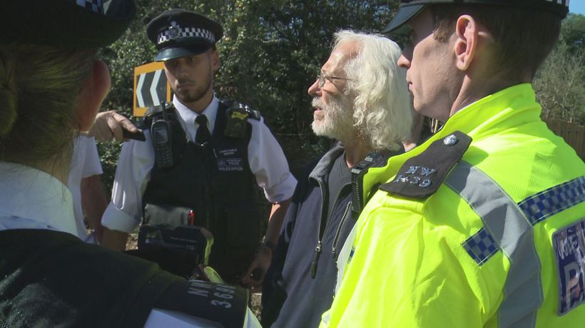 Heathrow drone protester asks to be arrested