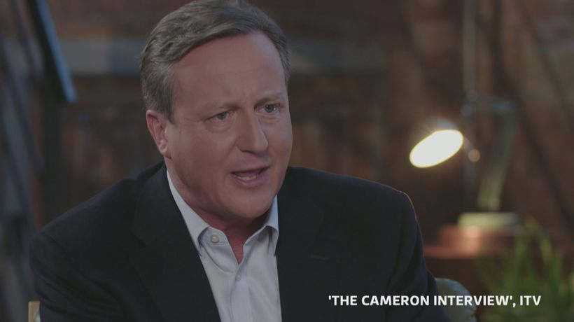 Cameron rules out a return to frontline politics