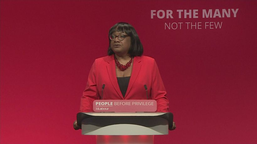 Diane Abbott pokes fun at Boris and Jo Johnson
