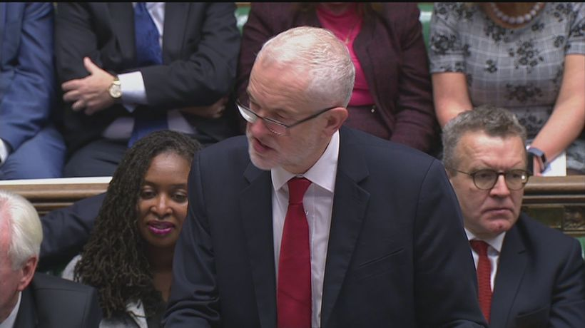 Corbyn: Labour 'will not back this sell-out deal'