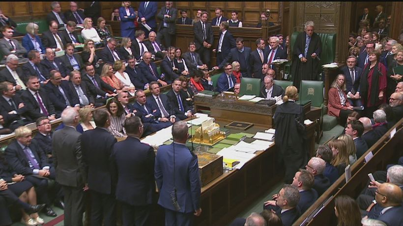 MPs vote to second reading of PM's Brexit Bill
