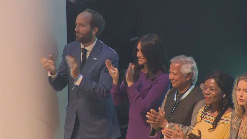 Duchess of Sussex Attends One Young World Summit