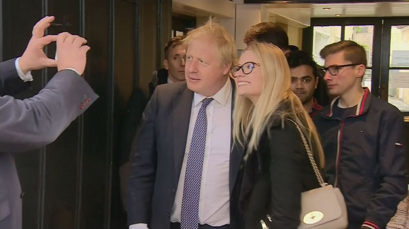 PM gets a mixed reaction on walkabout in Wells