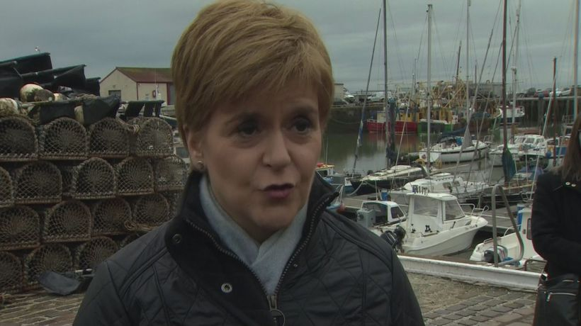 Sturgeon: Vote for SNP is a vote to decide Scotland's future