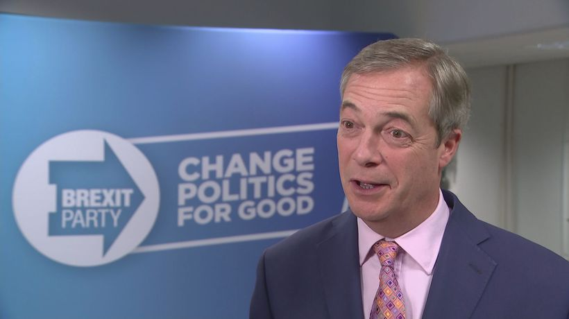 Mixed feelings for Farage as Brexit Party fails to win seat