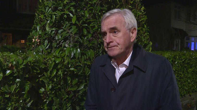 McDonnell: I won't be taking over as leader
