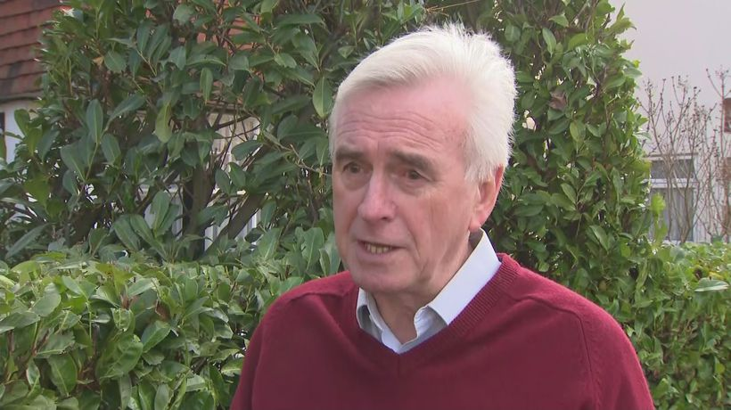 McDonnell: Labour tried to bring country together but failed