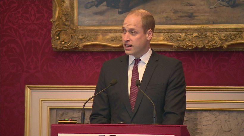 William urges help to end 'abhorrent' illegal wildlife trade